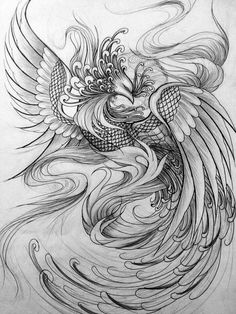 29 trendy tattoo thigh phoenix ink The Effective Pictures We Offer You About tattoo thigh A quality Tattoo Sketch, Tattoo Drawings, Body Art Tattoos, New Tattoos, Sleeve Tattoos, Phoenix Tattoo Sleeve, Phoenix Tattoo Feminine, Phoenix Tattoo Design, Tattoo Side