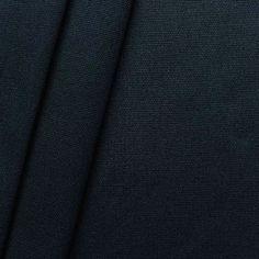 100% Baumwolle Canvas Farbe Dunkel-Blau