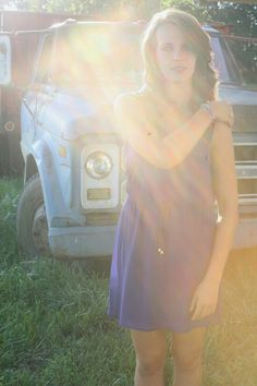 Sunlight and old trucks