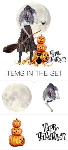"""Halloween"" by giulygi ❤ liked on Polyvore featuring art"