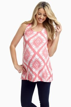 A bold print like this is just the thing to complete your perfect summer wardrobe. Newest Maternity Clothes From PinkBlush Maternity
