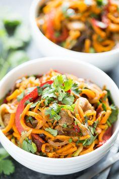 Cajun Sweet Potato Noodles | GI 365