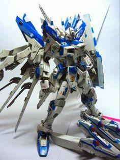 MG 1/100 hi-nu Gundam + Strike Freedom Custom Build - Gundam Kits Collection News and Reviews