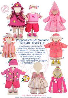 Wollyonline Blog: Doll Patterns 43cm