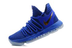 32f0676d1c4 Legit Cheap Authentic KD 10 Kevin Durant X Royal Warriors Mens Basketball  Shoes 2018 For Sale