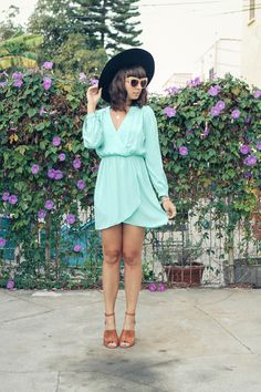 Discover this look wearing Electric Frenchie Dresses, Chelsea House Of Harlow Sunglasses tagged cute, inspiration - ALL LADY LIKE by ChanelleNstuff styled for Chic, Everyday in the Spring Beige Heels, These Girls, Playing Dress Up, Celebs, Street Style, Shirt Dress, Lady, My Style, How To Wear