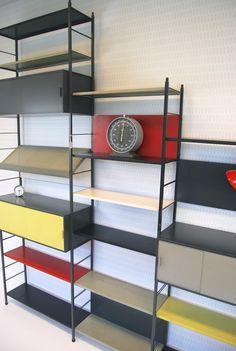 Vintage Pilastro - Tjerk Reijenga bookcase - Soekis