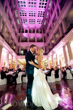 A Wedding Reception At The St Paul Hotel