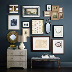 Art, light, mirror: The art of choosing wall art #HomeSenseStyle Conseil #HomeSenseStyle : Tableaux, luminaires, miroirs : l'art de choisir des tableaux