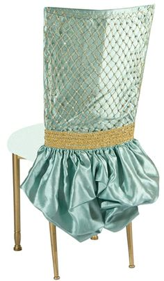 WEDDING Party Chair Covers & Decor