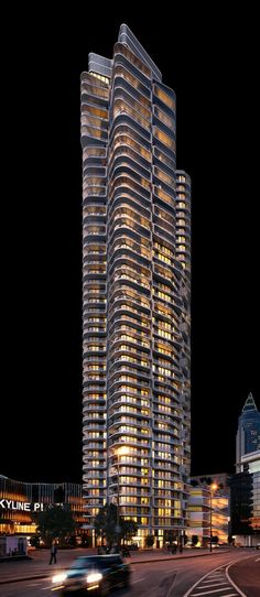Futuristic Architecture, Building Architecture, Facade Lighting, Texture Design, Condominium, Willis Tower, Skyscraper, Multi Story Building, Real Estate