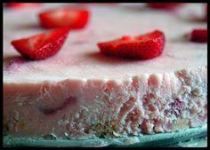 Frozen Strawberry Margarita Dessert.
