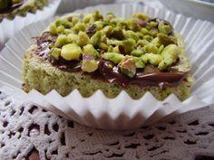 tortine nutella e pistacchio