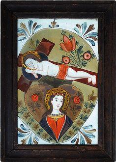 Bild aus Buchers, Österreich, frühes 19.Jahrhundert Christian Paintings, Byzantine Icons, Art Brut, Kandinsky, Religious Art, Painting & Drawing, Holi, Religion, Passion
