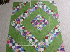 Scrap Quick Step one possible layout