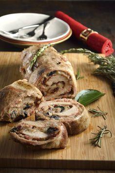 Lomo de Cerdo Relleno Tradicional - Lowly Tutorial and Ideas Barbecue Recipes, Pork Recipes, Slow Cooker Recipes, Cooking Recipes, Pureed Food Recipes, Mexican Food Recipes, Healthy Recipes, Pork Dishes, Thanksgiving Recipes