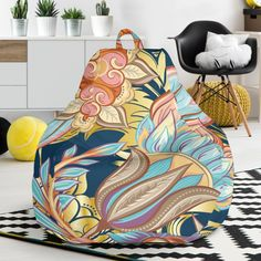 Romantic Paisley Bean Bag Chair – This is iT Original Bag Chairs, Brand Store, Bean Bag Chair, Paisley, Beans, Relax, Just For You, Romantic, The Originals