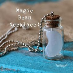 Magic Bean Necklace: Once Upon a Time! | DIY & Crafts! | Pinterest