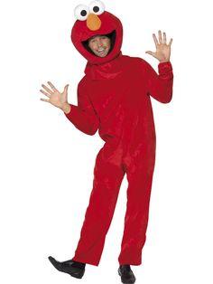 Sesame Street Elmo Costume Unisex Adult Fancy Dress Sesame Street Elmo Costume, Red, with Jumpsuit and Headpiece Cookie Monster Halloween Costume, New Halloween Costumes, Monkey Costumes, Horse Costumes, Men's Costumes, Costume Ideas, Disfraz Star Wars, Popular Costumes, Adult Fancy Dress