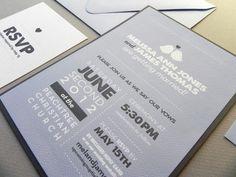 Modern Love Birds Wedding Invitation Suite by sheilamaridesign, $125.00