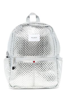 444153d83c887 Image of STATE Bags Quilted Metallic Kane Backpack Mode Rucksack