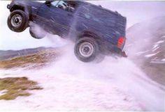 2WD Cherokee gets air
