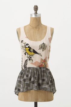 Finely Feathered Tank - Anthropologie.com