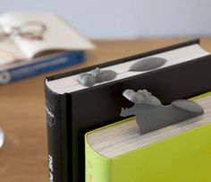 hippopotamus gray grey Hippo Bookmarks Are Cleverly Amazing