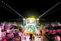 Nightlife and themed parties on each sailing