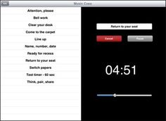 Music Cues app- easily use music in the classroom- Rick Morris