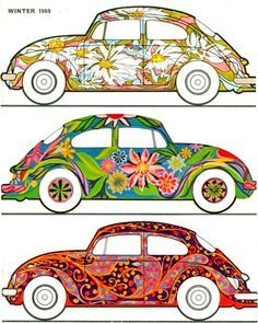 Cover of the Small World magazine, for VW owners in the Unknown artist. Volkswagen of America Vw Bus, Auto Volkswagen, Vw Camper, Volkswagen Beetle Vintage, Vintage Stickers, Combi Ww, Vw Vintage, Patchwork Quilting, Quilts
