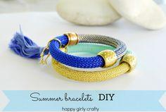 Easiest summer bracelets ever!