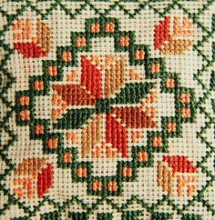 Palestinian Embroideries (13) by abudheer, via Flickr