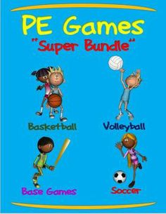 Ideas for march madness lessons and activities march madness in pe games super bundle basketball volleyball soccer and base games fandeluxe Gallery