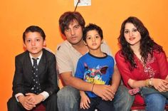 Afzal khan with family