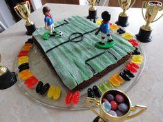 A4 terrain de football Imprimé à Motifs Icing Sheet cake topper