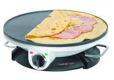 Health and Home Crepe Maker - 13 Inch Crepe Maker Electric Griddle - Non-stick Pancake Maker *** This is an Amazon Affiliate link. Read more reviews of the product by visiting the link on the image.