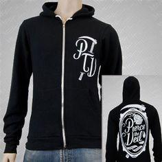 Pierce The Veil hoodies, CEMETERY ROSE BLACK
