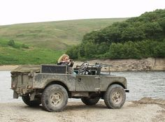 Land Rover series life view girl