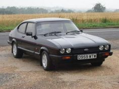 Ford Capri 2.8i Special. Still my childhood dream car and very unpopular with trendsetters and people with taste.