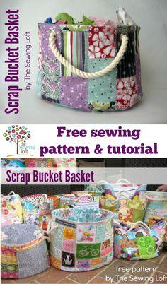 Stackable Scrap Bucket Pattern