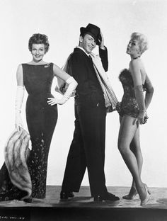 Rita Hayworth, Frank Sinatra and Kim Novak - Pal Joey (1957)