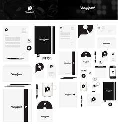 Vinylport business vinyl identity logo collateral