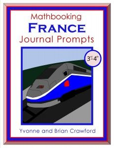 FREE France-themed math journal.  Each math problem comes with a factoid about life in France.