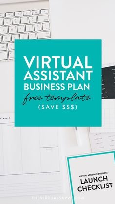 FREE Virtual Assistant Business Plan Template - The Virtual Savvy Free Business Plan, Business Names, Business Planning, Business Tips, Business Plan Template Free, Business Essentials, Creative Business, Business Launch, Business Marketing