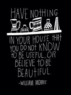 Good ole William Morris. The one thing I took away from an entire semester studying this man.
