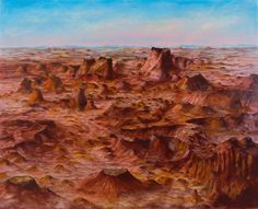 Sir Sidney Nolan 'Inland Australia', 1950 © The estate of Sir Sidney Nolan. All Rights Reserved 2010 / Bridgeman Art Library Australian Painting, Australian Artists, Sidney Nolan, Penguin Art, Art Terms, Tate Gallery, Aboriginal Art, Portfolio, Artist Art