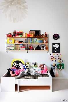 colourful pillow collection