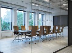 Moderne kontorlokaler, Oslo - Nyfelt og Strand Interiørarkitekter Oslo, Conference Room, Table, Furniture, Home Decor, Modern, Decoration Home, Room Decor, Tables