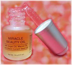 Perfect 10! Miracle Beauty Facial Oils - Anti-Aging Argan, Marula, Black Currant